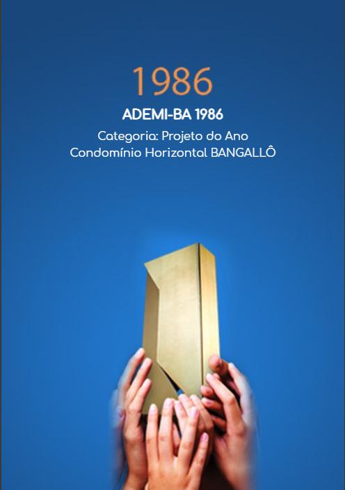 1986 - ADEMI-BA 1986 - PROJETO DO ANO